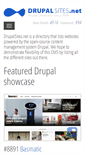 Mobile Preview of drupalsites.net